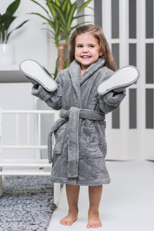 badrock morgonrock barn frotte euforiska ting