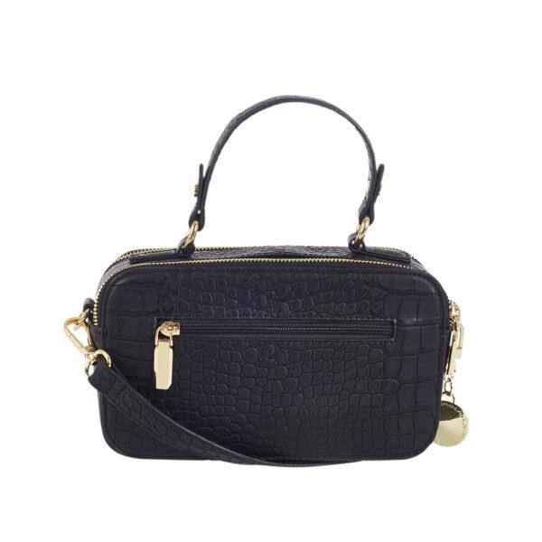 Väska, handtag, ficka bak, reglerbar rem, inv. fack utan dragkedja