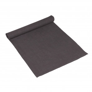 Löpare i rami & tvättad bomull. Känns och ser ut som lin. Material: 85% *Rami, 15% tvättad bomull Storlek: 40x140 cm Komposition: 235 gram enfärgat Tvättråd: 40% maskintvätt, torktumling rekommenderas EJ *Rami: En naturfiber som utvinns från en nässelväxt, även kallad kinagräs. Det är ett slitstarkt tyg som liknar linet till sin struktur. För att göra tyget mjukare blandas det ofta med andra fibrer som lin eller bomull.
