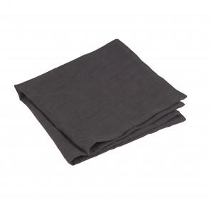 Servett i rami & tvättad bomull. Känns och ser ut som lin. Sälj i pack om 4. Material: 85% *Rami, 15% tvättad bomull Storlek: 42x42 cm Komposition: 235 gram enfärgat Tvättråd: 40% maskintvätt, torktumling rekommenderas EJ *Rami: En naturfiber som utvinns från en nässelväxt, även kallad kinagräs. Det är ett slitstarkt tyg som liknar linet till sin struktur. För att göra tyget mjukare blandas det ofta med andra fibrer som lin eller bomull.